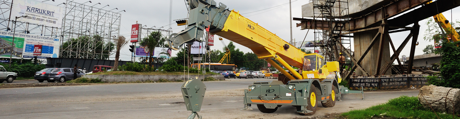 Rough Terrain Cranes India