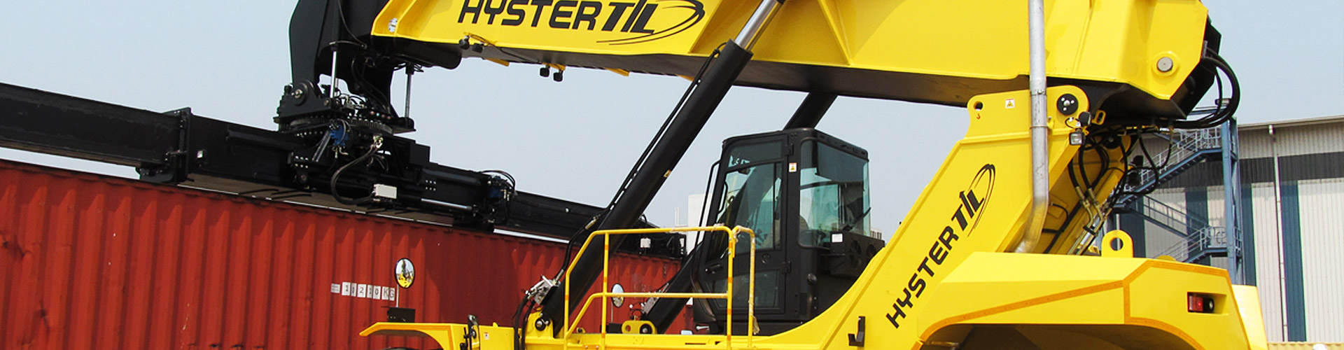 Hyster Reach Stacker Cranes India